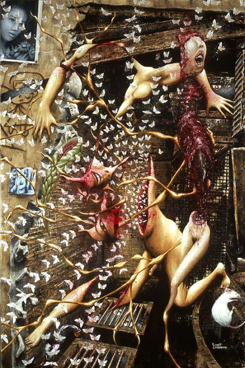 """Шарль Бодлер и его """"Падаль"""" как творческий манифест модернизма."""