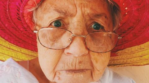 Британская бабушка заблудила…