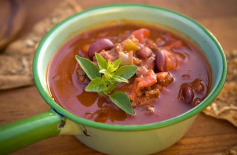 """Фасолевый суп """"Чили"""""""