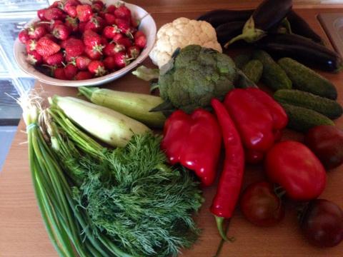 Легкая мариновка для овощей