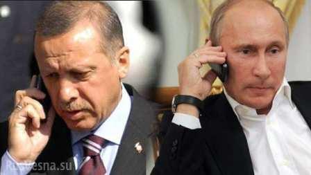 Путин иЭрдоган предметно об…