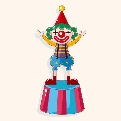 Прикольный анекдот про Вовочку, потребовавшего насвой день рождения клоунов