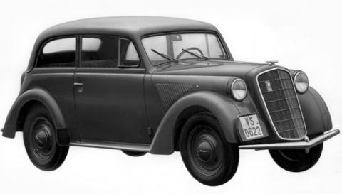 Первый автомобиль с несущим кузовом