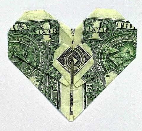 САМОДЕЛКИ. Оригинальный подарок из денег