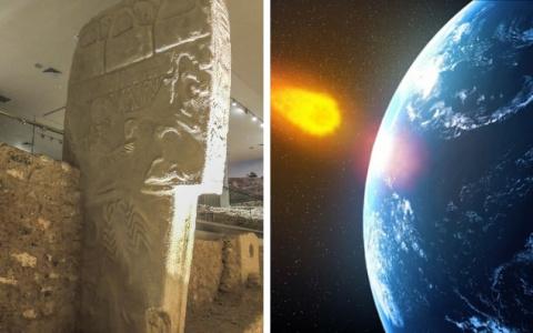 На рисунках из Гёбекли-Тепе возможно показано падение кометы 13 тысяч лет назад