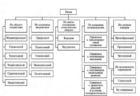 Анализ и управление рисками организации
