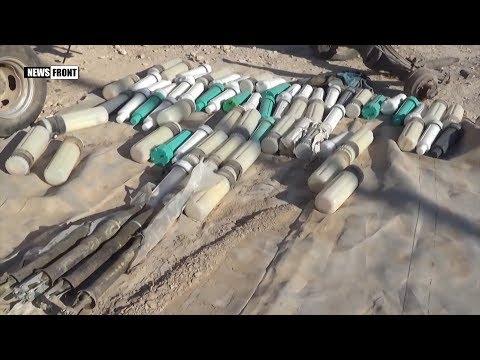 Сирийская армия перехватывает оружие боевиков на пути к Ракке
