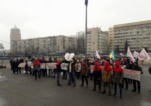 В Киеве голодают актеры Киев…