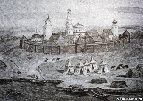 Торги и кабаки города Касимова в XVII веке