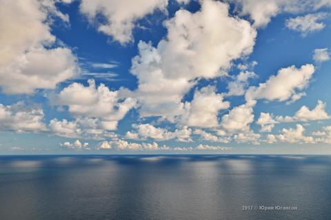 Облака Фиолента. Это было красиво!