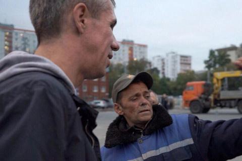 Панин два дня прожил с бездомными на Казанском вокзале