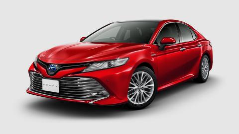 Toyota раскрыла новую Camry …