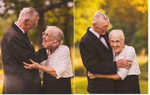 Вместе 65 лет: трогательная …
