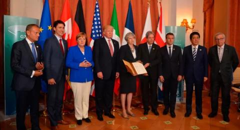 Лидеры G7 не могут найти общее мнение по «российскому вопросу»