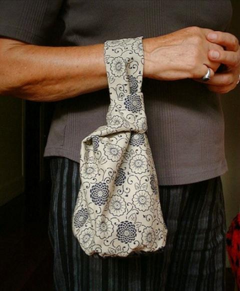 Японская сумка-узелок своими…