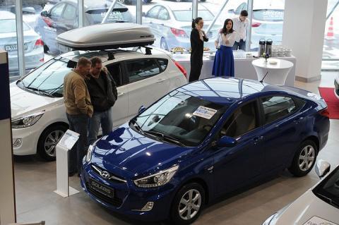 Россияне потратили на покупку автомобилей 1,57 трлн рублей