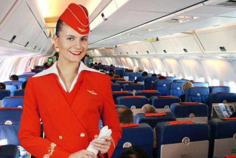 """""""Аэрофлот"""" признан лучшей авиакомпанией Восточной Европы на авиакосмическом салоне в Фарнборо"""