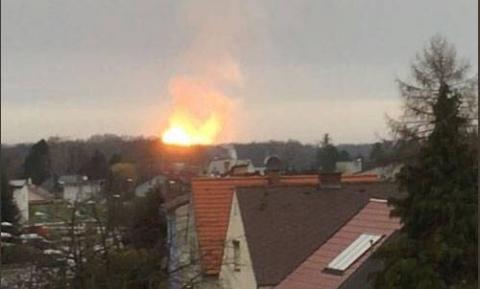 Взрыв на крупнейшем газовом …