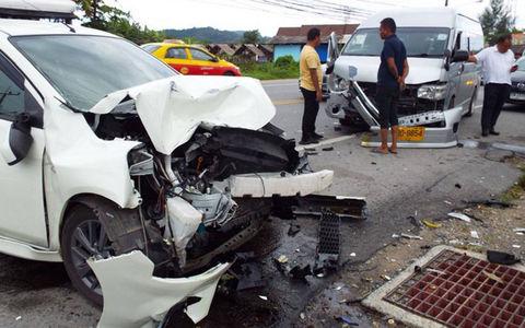 Страшная лобовая авария в Та…