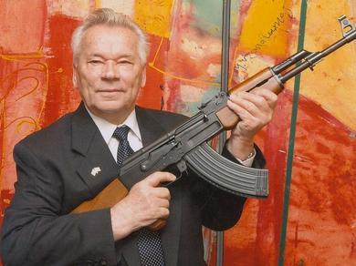 Вся жизнь Михаила Тимофеевича Калашникова, его многолетний самоотверженный труд и гениальные разработки автоматического оружия были примером служения Отчизне, беззаветной любви к Родине