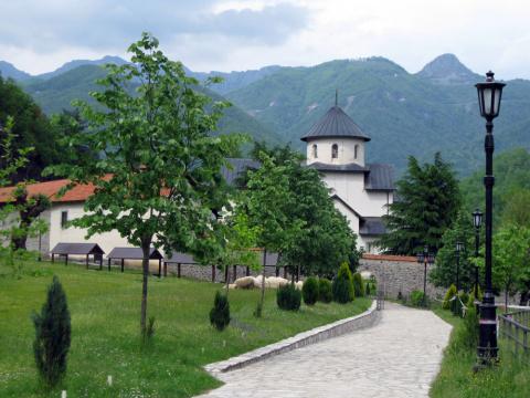 Монастырь Морача. Черногория