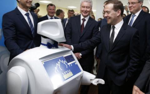 Рассказы Медведева про робот…