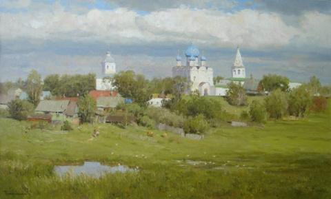 Художник Вячеслав Плотников. Великолепные ресские пейзажи