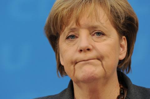 Меркель против закрепления в законе максимального числа беженцев