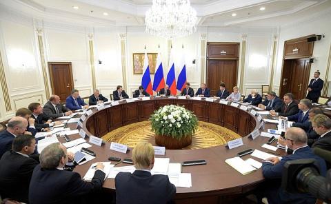 Совещание по развитию транспортной инфраструктуры Северо-Запада России - НОВОСТИ НЕДЕЛИ