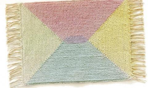 Вяжем уютный коврик… Как же …