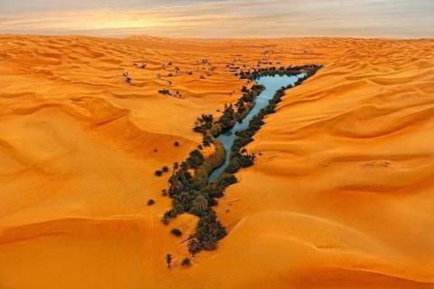 Аномалии песчаного моря Убар…