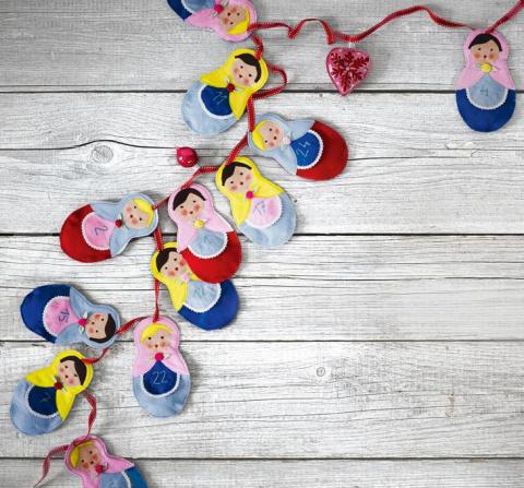 Как сшить матрешку с игрушкой внутри