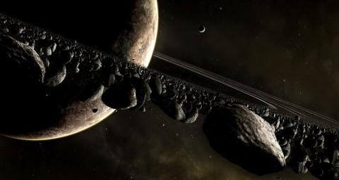 В Солнечной системе пропадают астероиды