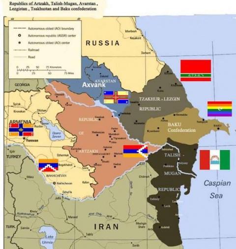 Минобороны Азербайджана сообщает о готовности воевать с Россией
