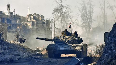 Армия Сирии нанесла мощный удар по боевикам в провинции Хама