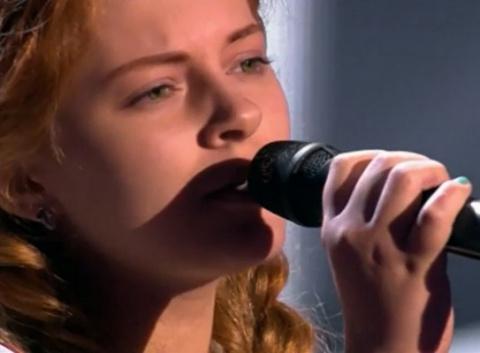 Ксения Бракунова из Брянска ошеломила жюри на шоу «Голос»