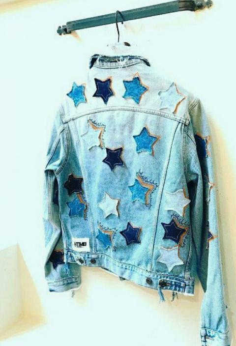 Куртка со звёздами