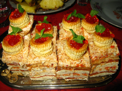 Праздничные блюда (первая часть)
