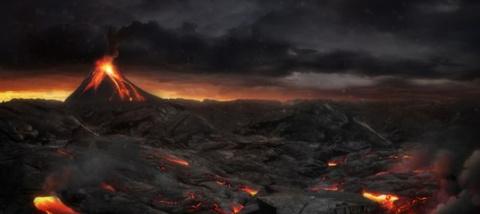 Динозавры царили на Земле бл…