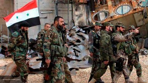 Сирийская армия отбила утер…