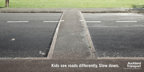 Дети видят дорогу по-другому. Притормозите.