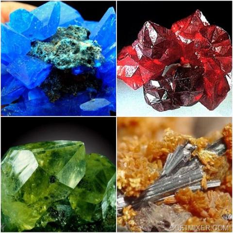 Обманчивая красота минералов