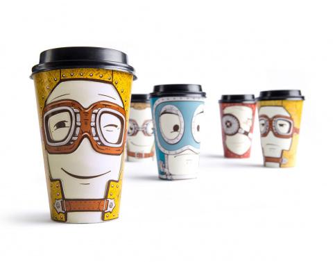 Взгляни кофе в лицо