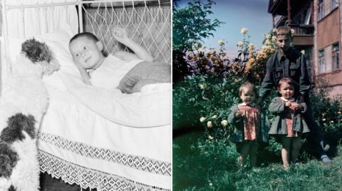 Советские дети на фотографиях 1940-1950 годов Семёна Фридлянда
