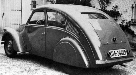"""Porsche Type 12 - Первые поползновения к """"Жуку"""""""