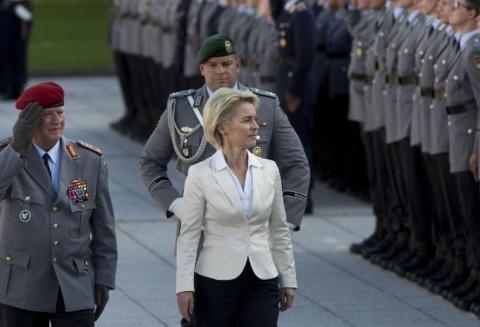 Военные министры ЕС в юбках …