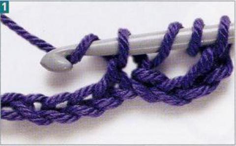Чтение схем для вязания крюч…