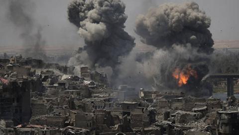 Ирак: Вице-президент назвал «пока не окончательной» победу над боевиками в Мосуле