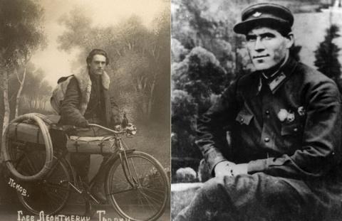 85 000 км вдоль границ СССР на велосипеде!