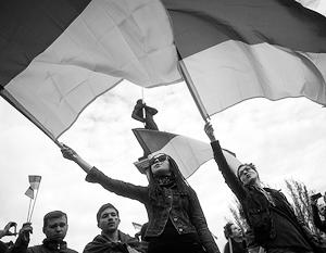 Поменяйте цвет флага и проблем на Украине не будет(мнение)